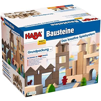 HABA Basic Building Blocks 26 Piece Starter Set (Made in Germany): Toys & Games