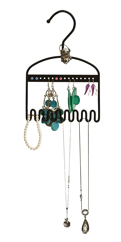 Amazoncom Just Solutions HangIt Jewelry Organizer Mini Black