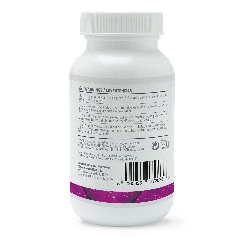 HSN Essentias - Garcinia Cambogia 500mg - 300mg Ácido Hidroxicítrico (HCA) - Supresor del Apetito – Apto Vegetariano - 120 Cápsulas