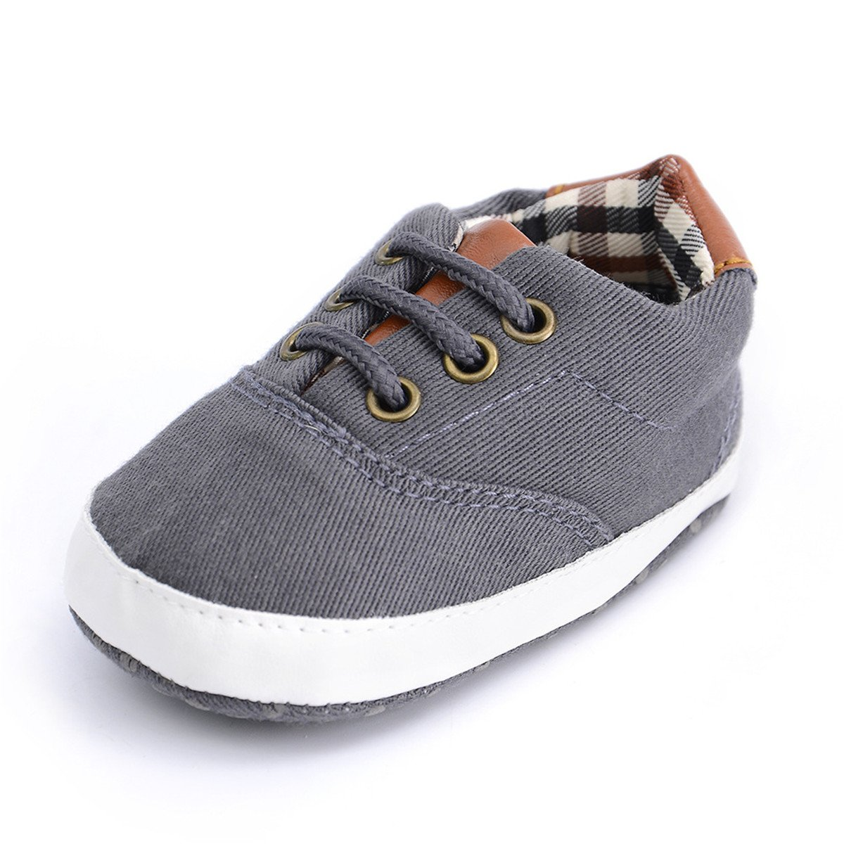 Baby Boys Girls Shoes Canvas Sneaker Infant First Walker Shoes