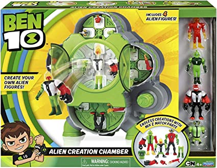 Amazon.com: Ben 10 Alien Creation Chamber, Green: Toys & Games