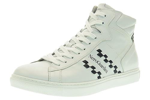 d60ac07391 Nero Giardini Scarpe Uomo Sneakers Alte P704932U/707 Taglia 44 ...