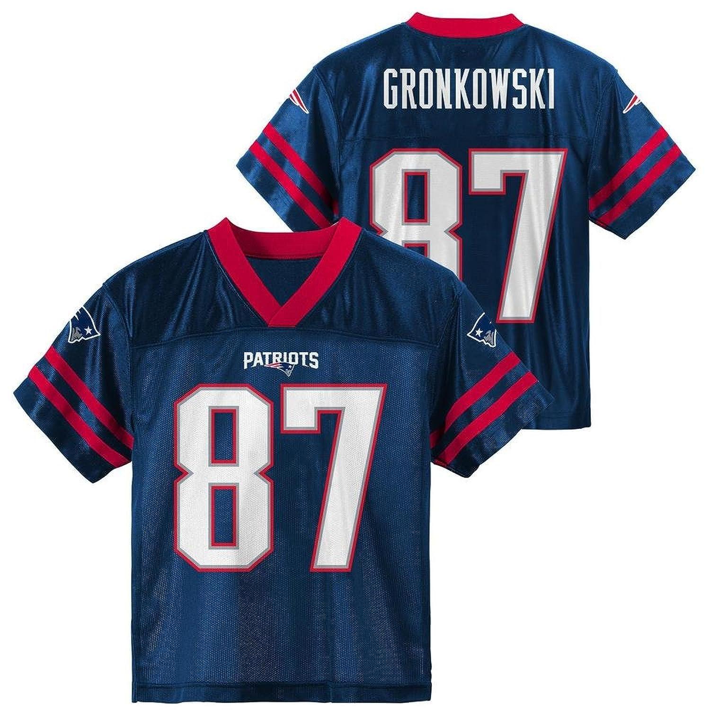 pretty nice 9f481 e919f Rob Gronkowski New England Patriots #87 Navy Kids Player ...