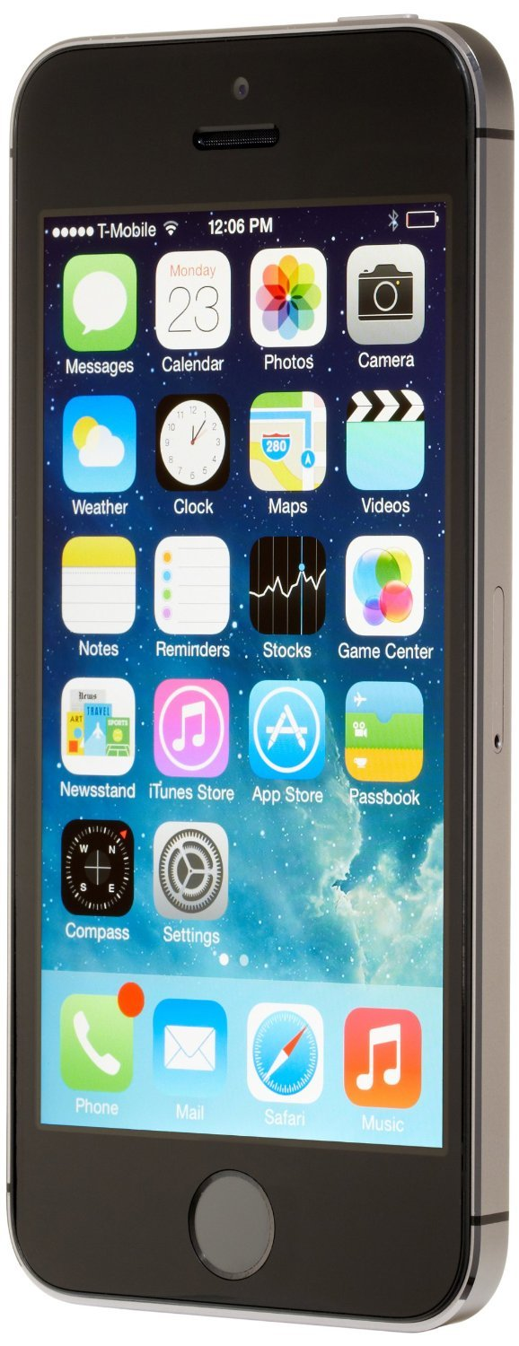 Apple iPhone 5S, AT&T, 16GB - Space Gray (Renewed) by Apple (Image #2)