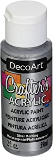 product image for DecoArt Crafter's Acrylic Paint, 2-Ounce, Silver Morning