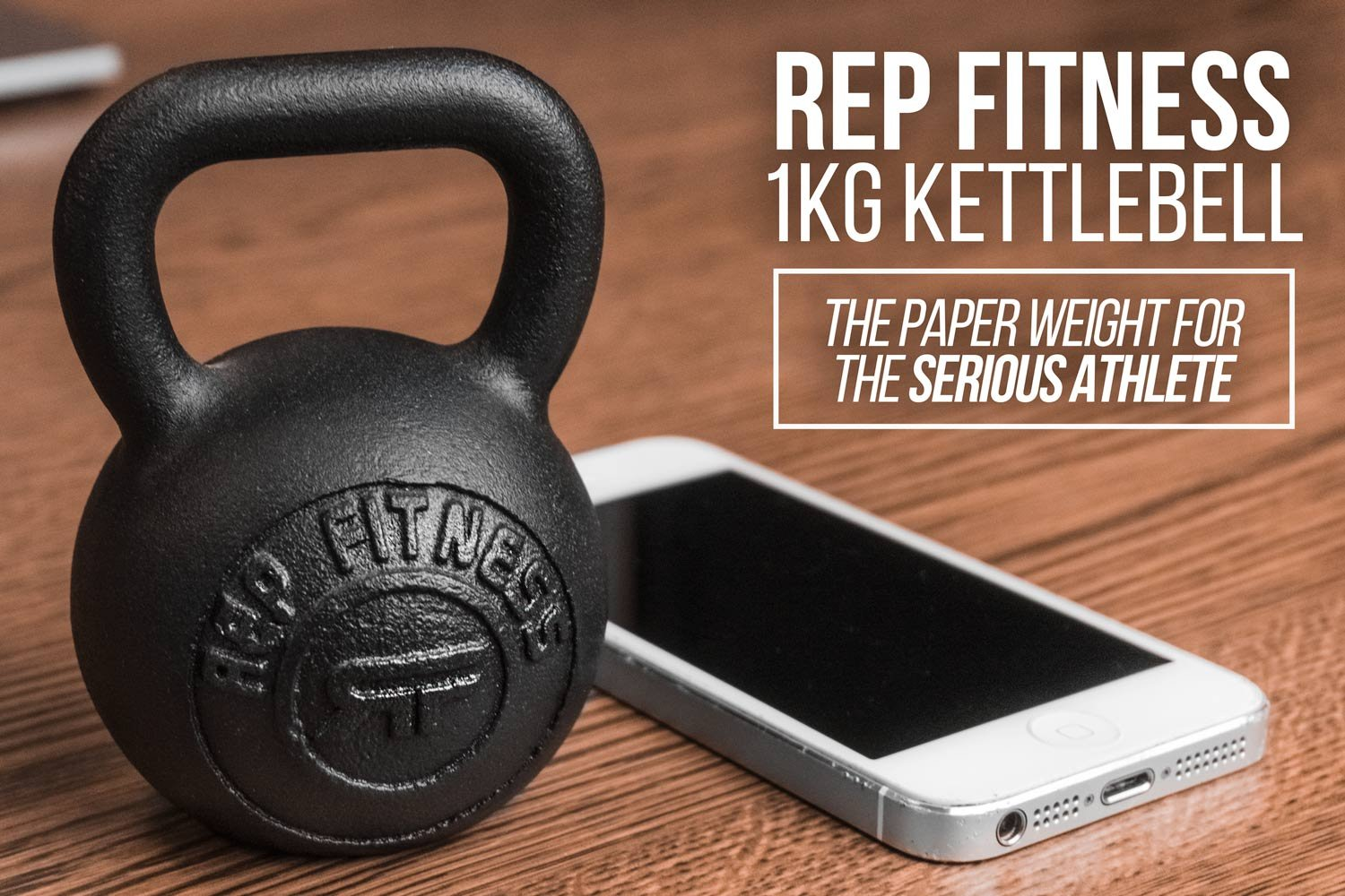 Rep 1 kg Kettlebell Paperweight or Gift Item by Rep Fitness (Image #4)