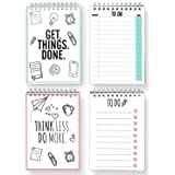 CUPCAKES & KISSES To Do List Double Pack / Notebooks with total 100 tear off Pages / Reminder Cards / 4.1 x 5.8 inches each Notepad / Made in Germany