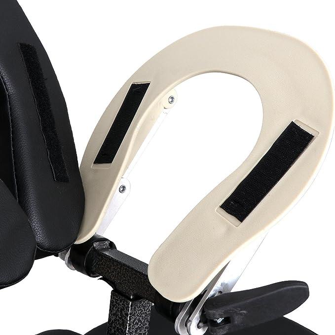 Amazon.com: Silla de masaje portátil y ligera, almohadilla ...