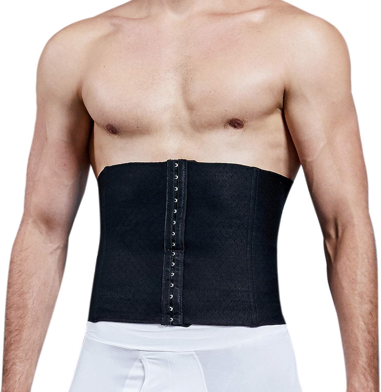 Girdle Corset Male Workout Trainer Cincher Fat burner Waist belt Body Shaper