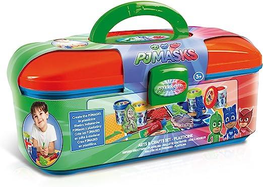 Canal Toys – PJ máscaras maletín de Actividades – Plastilina, Pjc 005