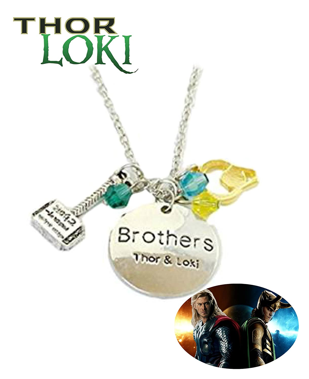 Thor y Loki collar de Marvel Comics películas dibujos ...