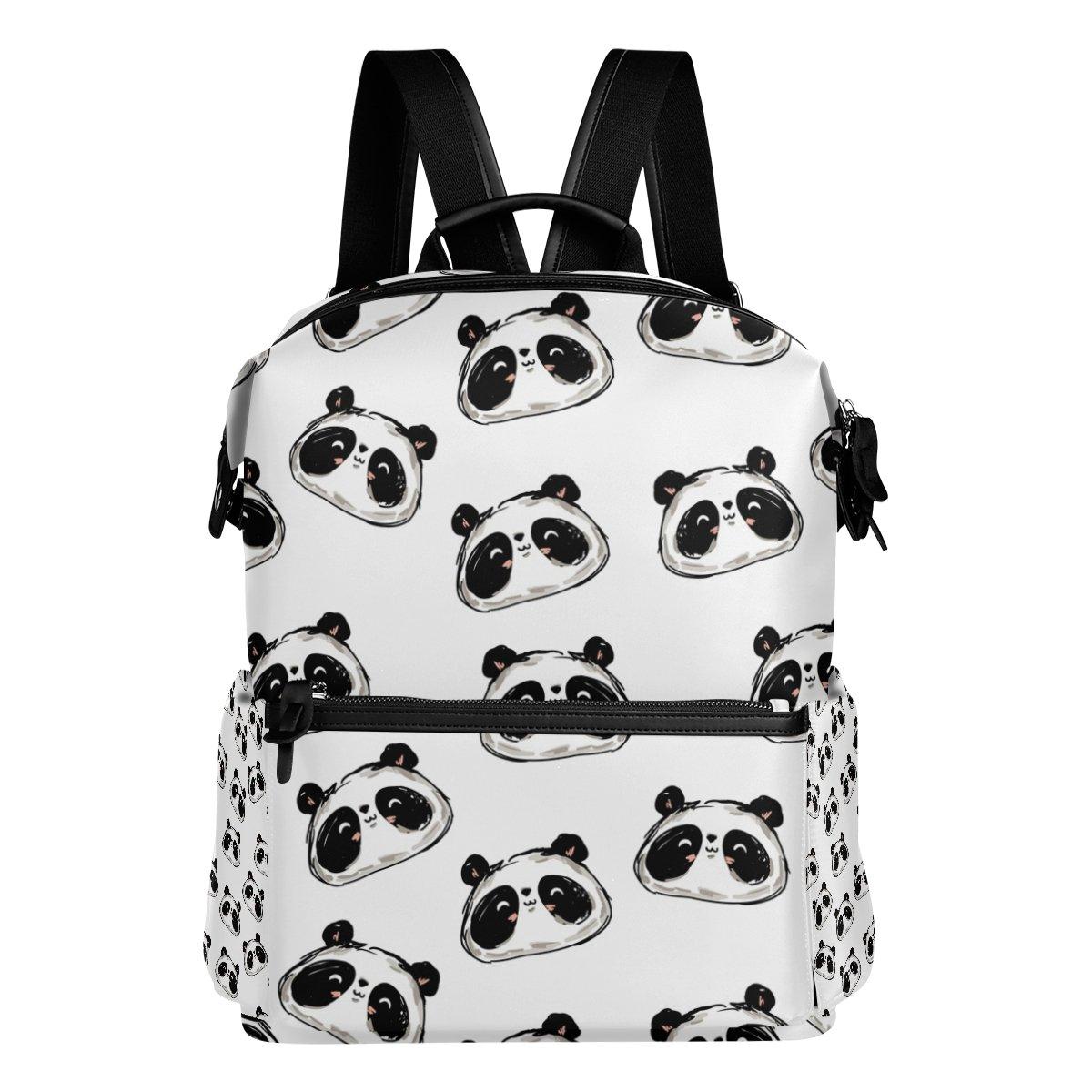 COOSUN Zaino da viaggio Cute Panda Scuola Zaino Multi