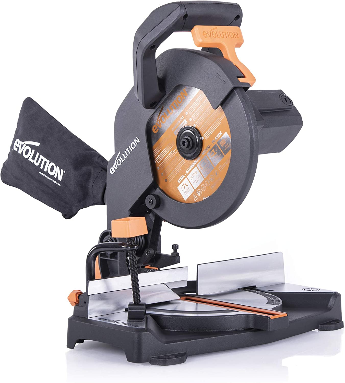 4. Evolution Power Tools R210CMS Compound Mitre Saw
