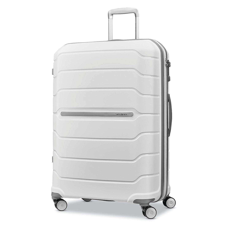 d576b069c Amazon.com | Samsonite Checked-Large, White | Luggage