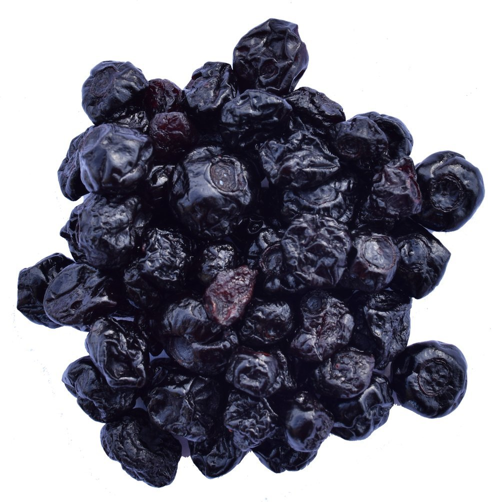 Wilderness Poets Oregon Blueberries (Sweetened with Apples) - Bulk Dried Fruit - 10 Pound (160 Ounce)