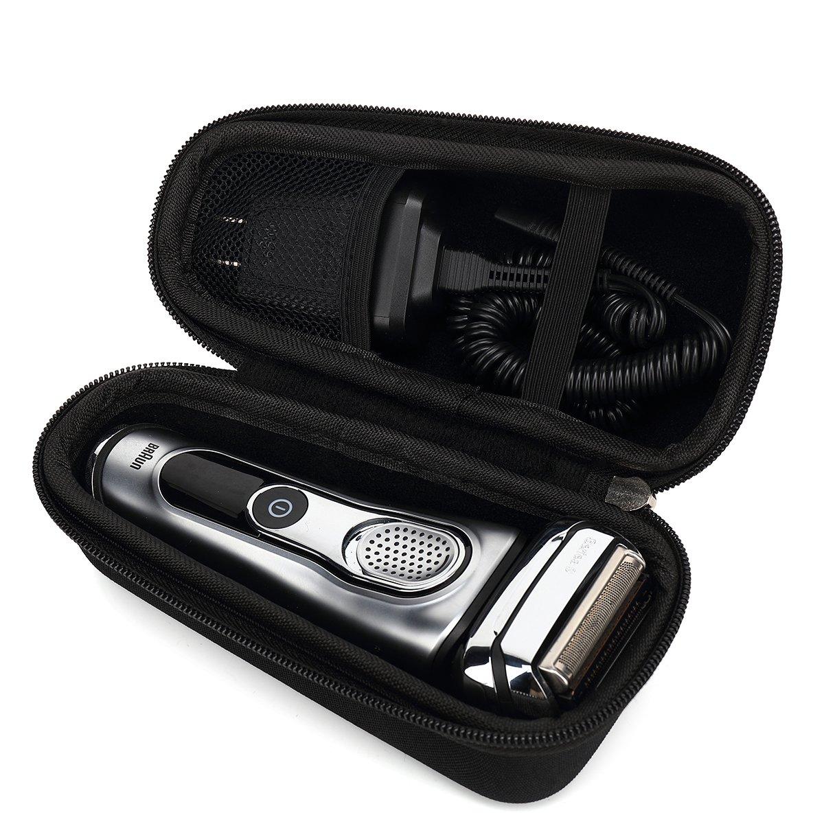 Hard Case for Braun Series 5 7 9 9290CC 790cc 9090cc Men Shavers Razor with mesh bag by Aproca