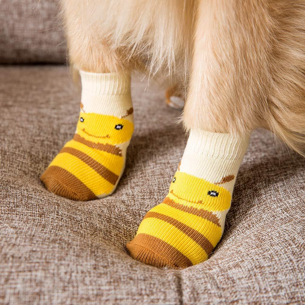Amazon.com: Hippie calcetines para perro, protectores de ...