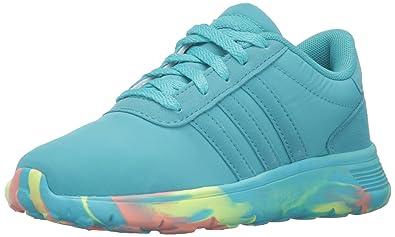 buy online 03a06 a4692 adidas Originals Kids  Lite Racer (Big) Sneaker, Shock Green White,