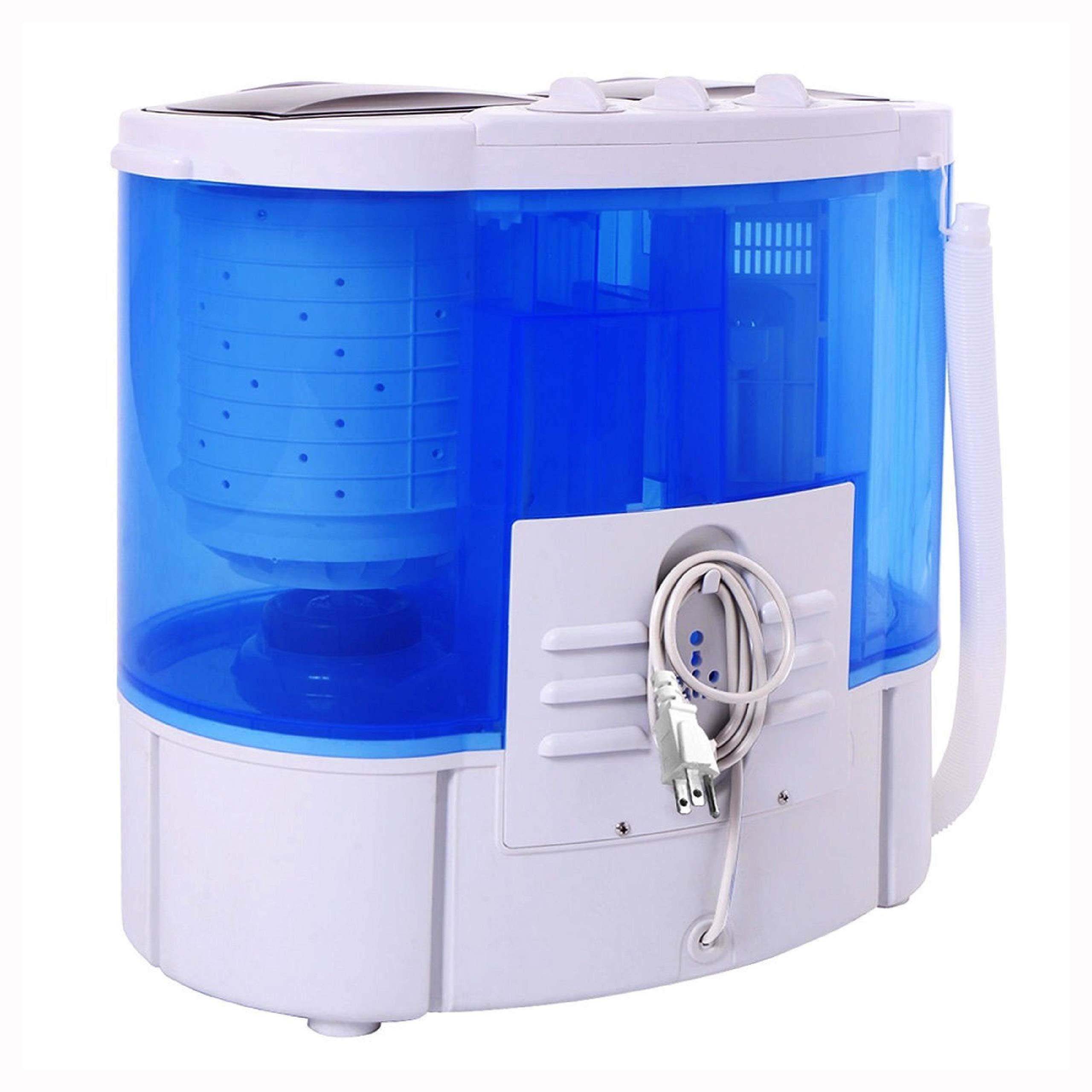 Washing Machine, 15 lbs Portable Compact Twin Tub Mini Washing Machine by HomyDelight (Image #3)