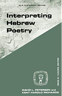 Studies in ancient yahwistic poetry biblical resource series interpreting hebrew poetry guides to biblical scholarship old testament series fandeluxe Gallery