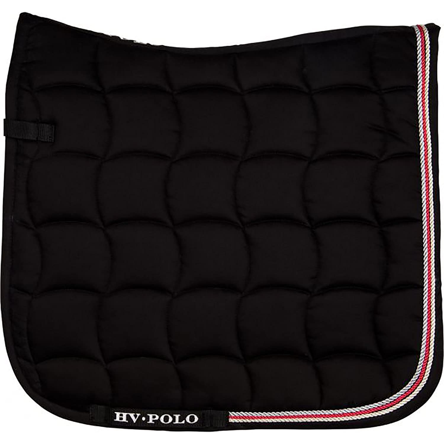 Black FullHV POLO Grover Dressage Saddle Pad