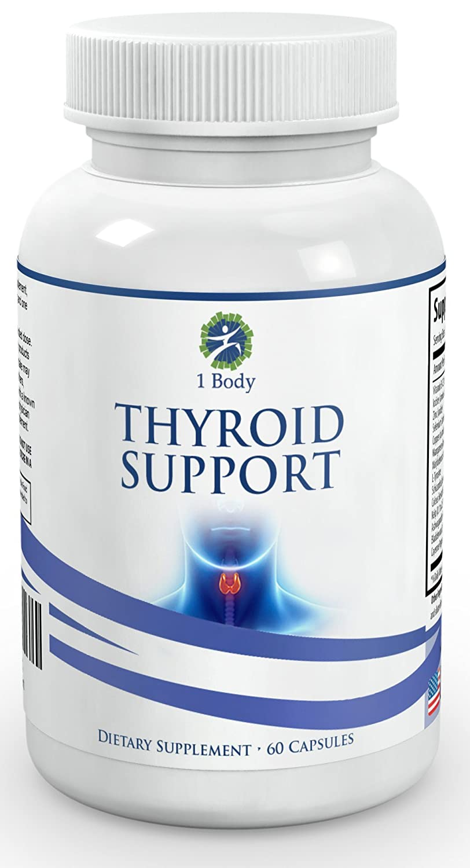 Thyroid Support Supplement Metabolism Formula Image 2