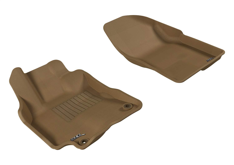 Lund 383007-T Catch-It Vinyl Tan Rear Seat Floor Mat Set of 2