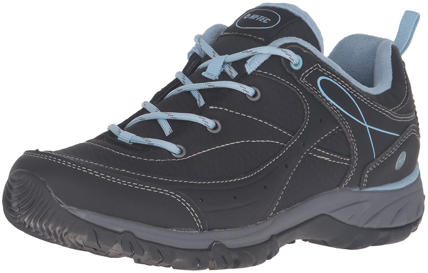 Hi-Tec Women's Equilibrio Bijou Low I-W Hiking Shoe B01A0FH0LG 9 B(M) US|Black/Forget Me Not