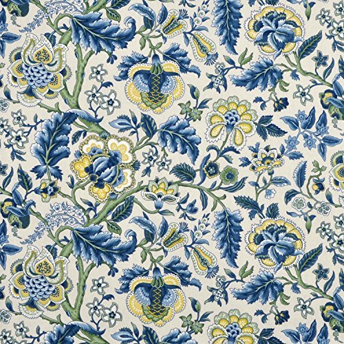 WAVERLY Imperial Dress/Twill Fabric by The Yard, Blue -