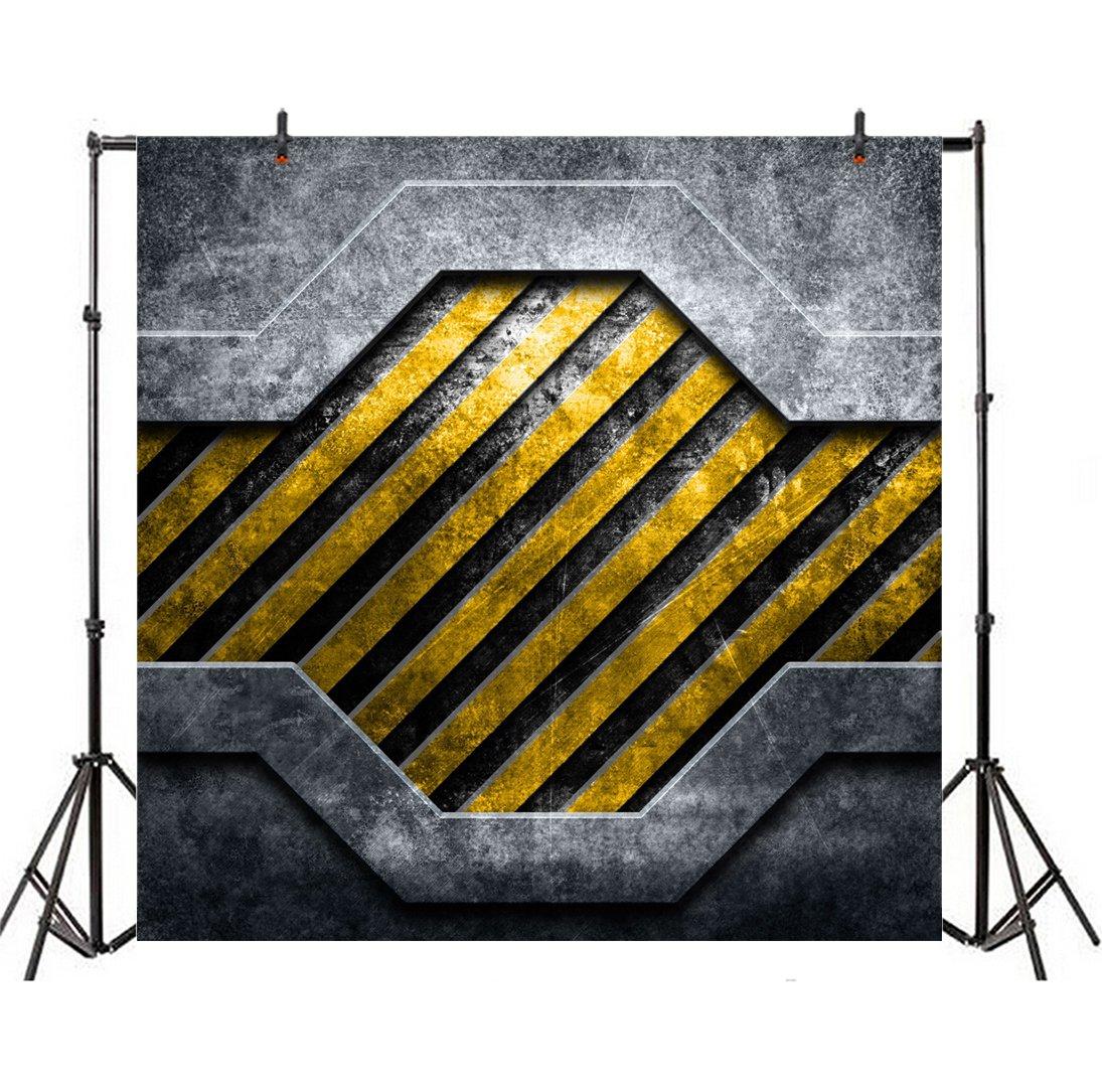 Leyiyi 6 Plaque X 6ft写真バックドロップヘビーメタルプレート背景