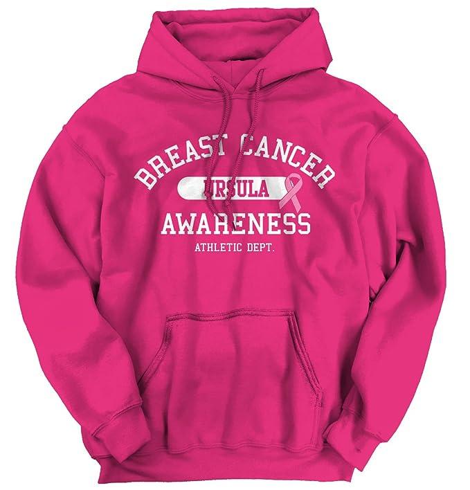 I Wear rosa para Ursula Custom el cáncer de mama conciencia regalo sudadera con capucha sudadera: Amazon.es: Ropa y accesorios