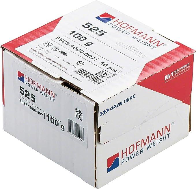 10x Auswuchtgewicht Lkw Felgen Typ 525 100g Hofmann Power Weight Schlaggewichte Wuchtgewichte Stahlfelgen Auto