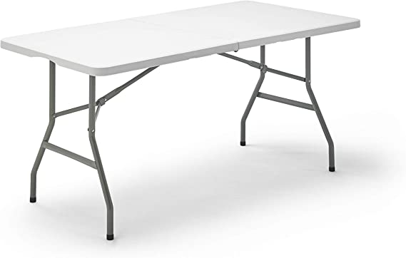 KitGarden Folding 152 - Mesa Plegable, color Blanco, 152x70x74 cm ...