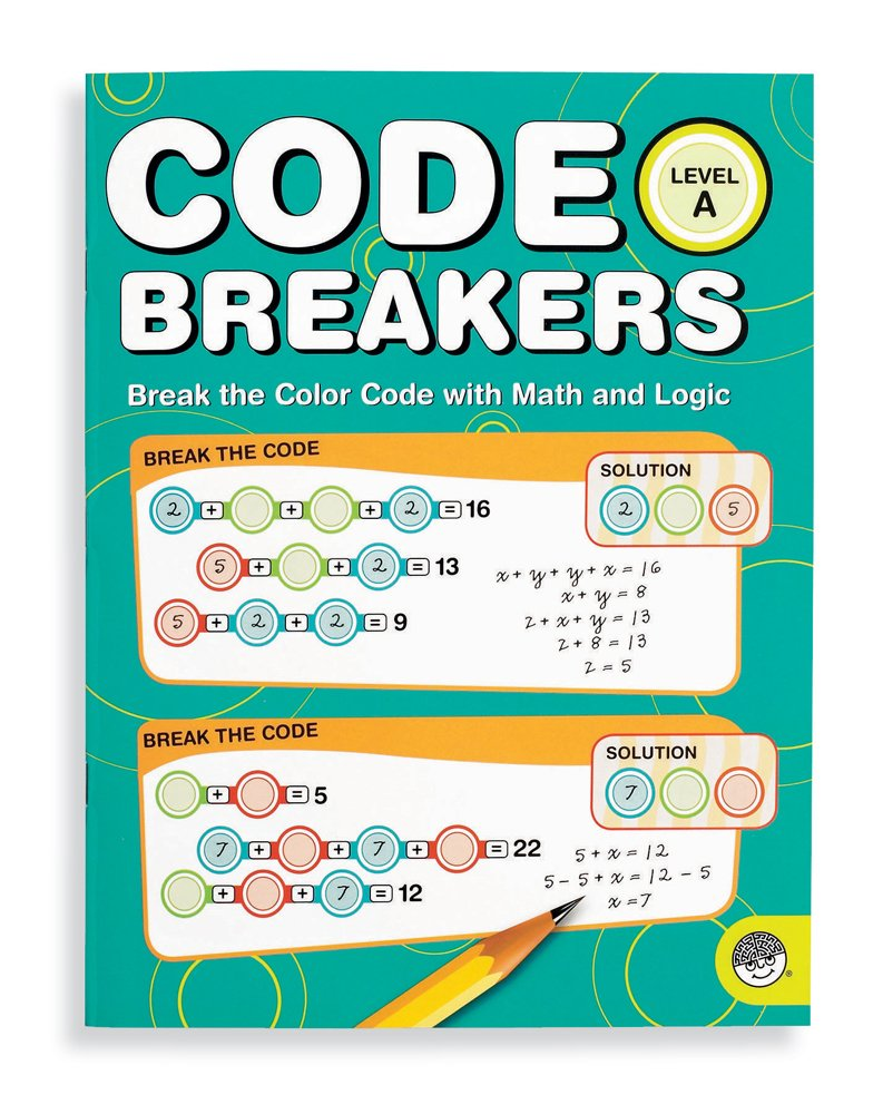 amazoncom mindware code breakers level a howard tray toys games - The Color Code Book
