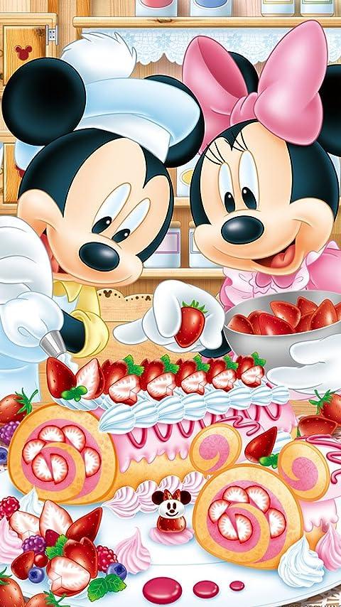 ディズニー ベリーベリー・ロールケーキ XFVGA(480×854)壁紙画像