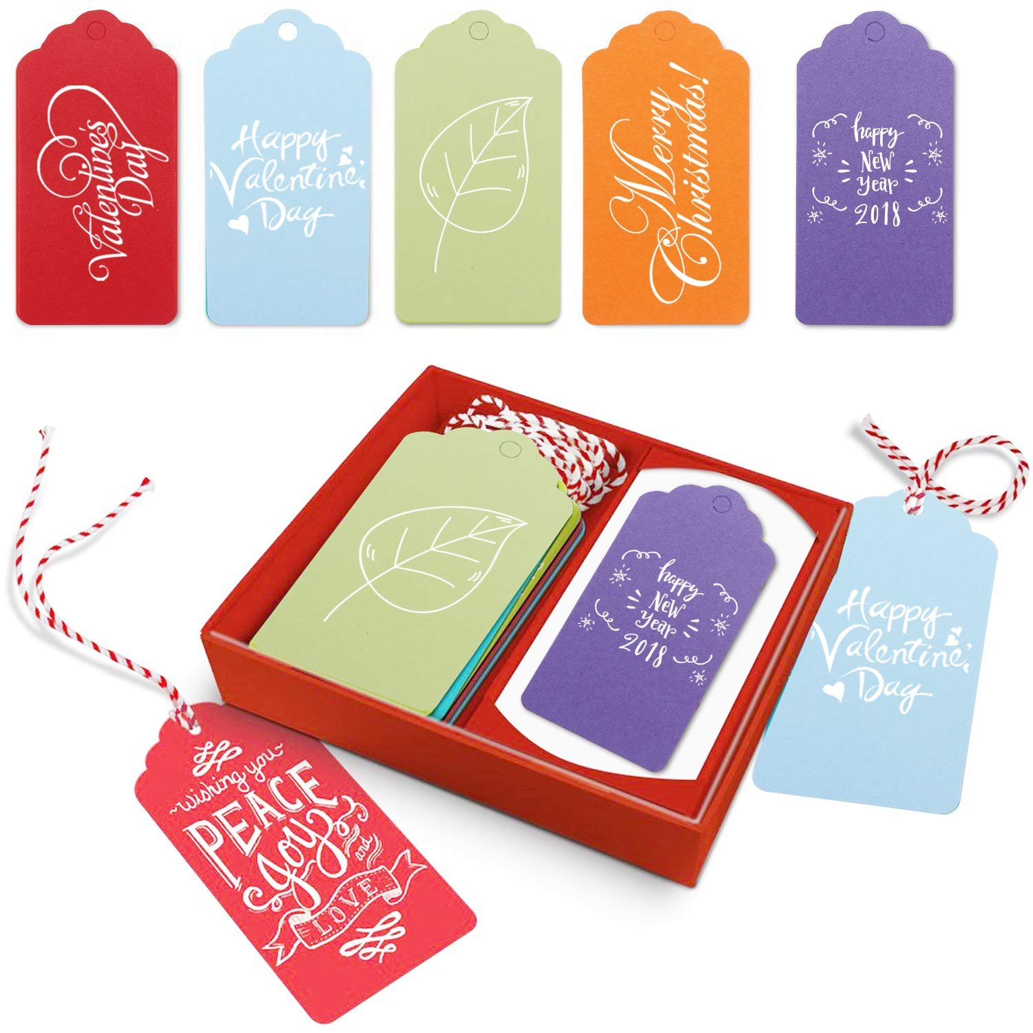 hanging gift tags 500pcs segarty custom blank colorful paper gift tags price tags label tags with
