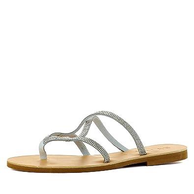 Evita Shoes Greta Damen Sandale Rauleder Fein Schwarz 40 Or7IZuno