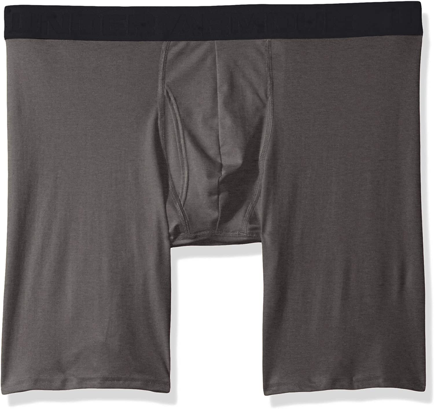 "Under Armour Men's Microthread 9"" Boxerjock Boxer Briefs"