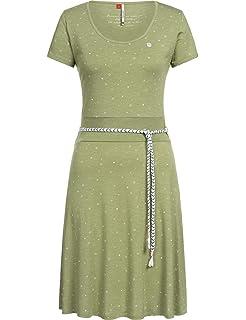 Laufen Strand Mountain Warehouse Summer Time Damen-Chambray-Kleid leichtes atmungsaktives Damen-Sommerkleid Reisen ideal f/ür Urlaub pflegeleicht