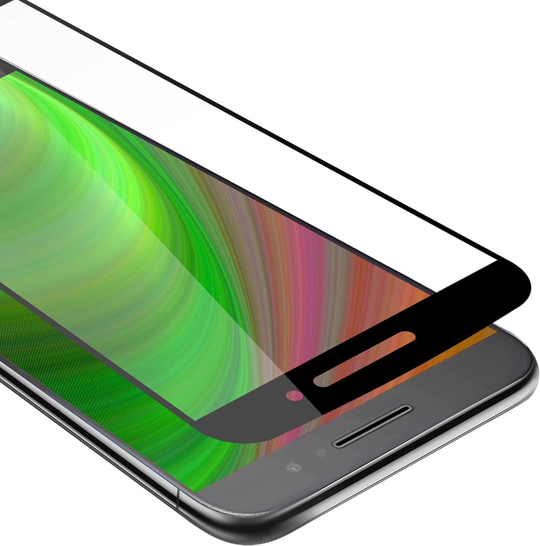 Cadorabo Película Protectora para Motorola Moto M en Transparente con Negro: Amazon.es: Electrónica