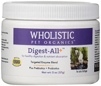 Amazon.com: wholistic Pet Organics Feline Digest-All Plus ...