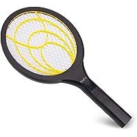 Mafiti Raquette Anti-moustiques électrique Permet de Se débarrasser des Moustiques, Mouches et Autres Insectes Volants, Couche de Protection en Maille