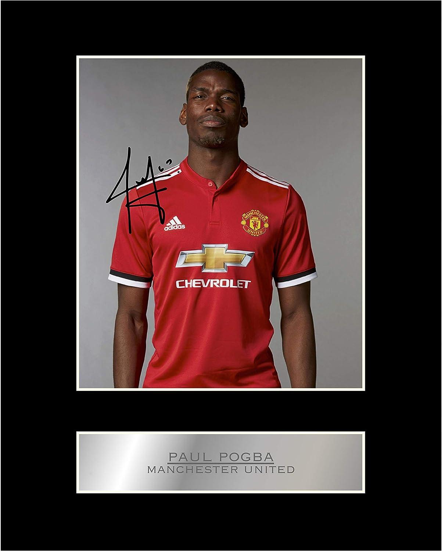 Fotografía enmarcada de Paul Pogba, jugador del Manchester United ...