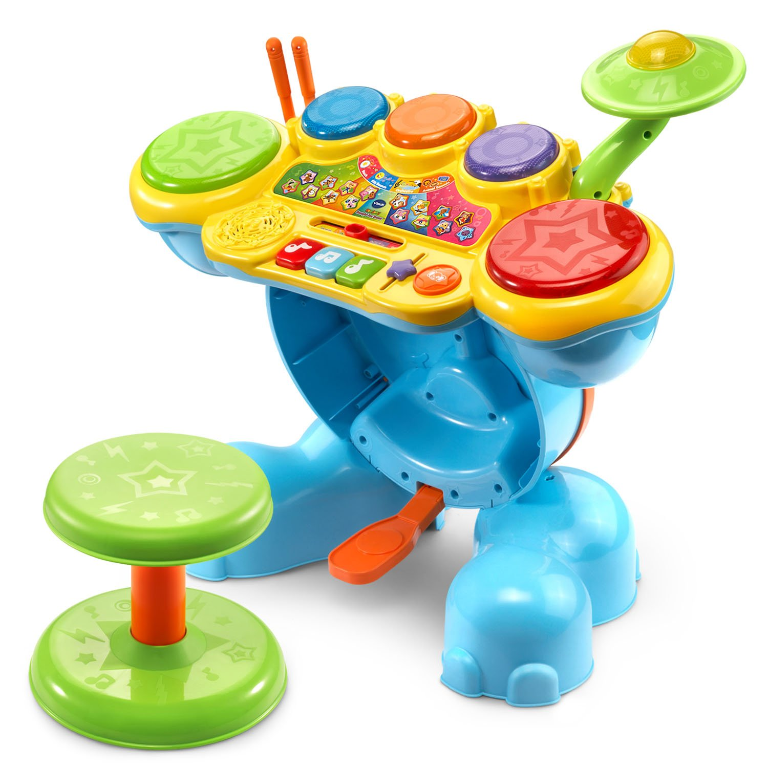 Little Kids Musical Instruments Toddler Children Toys Drum Kit Baby