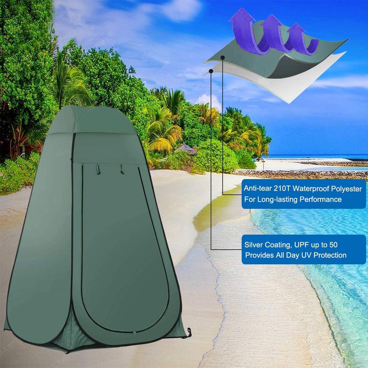 AQOTER Tienda de Campa/ña Tent Abrir Cerrar Autom/áticamente Pop Up Portable Sirve para Camping