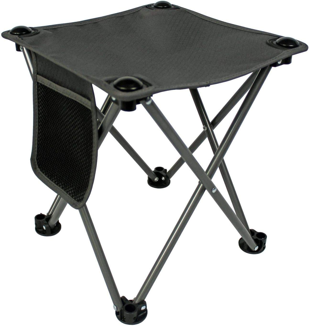 Tebery Folding Stool Fishing Stool Portable Camping Stool with Carry Bag for Travel Hiking Gardening Picnic Beach BBQ Outdoor Activities