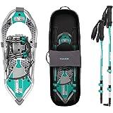Yukon Charlie's Advanced 8x25 in. Women's Snowshoe Kit w/ Poles & Bag   80-3006K