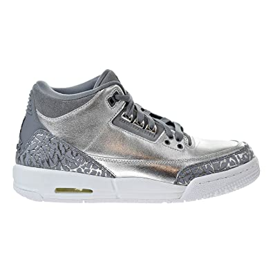best sneakers 442b4 e99af Image Unavailable. Image not available for. Color  Jordan Air 3 Retro  Premium Chrome ...