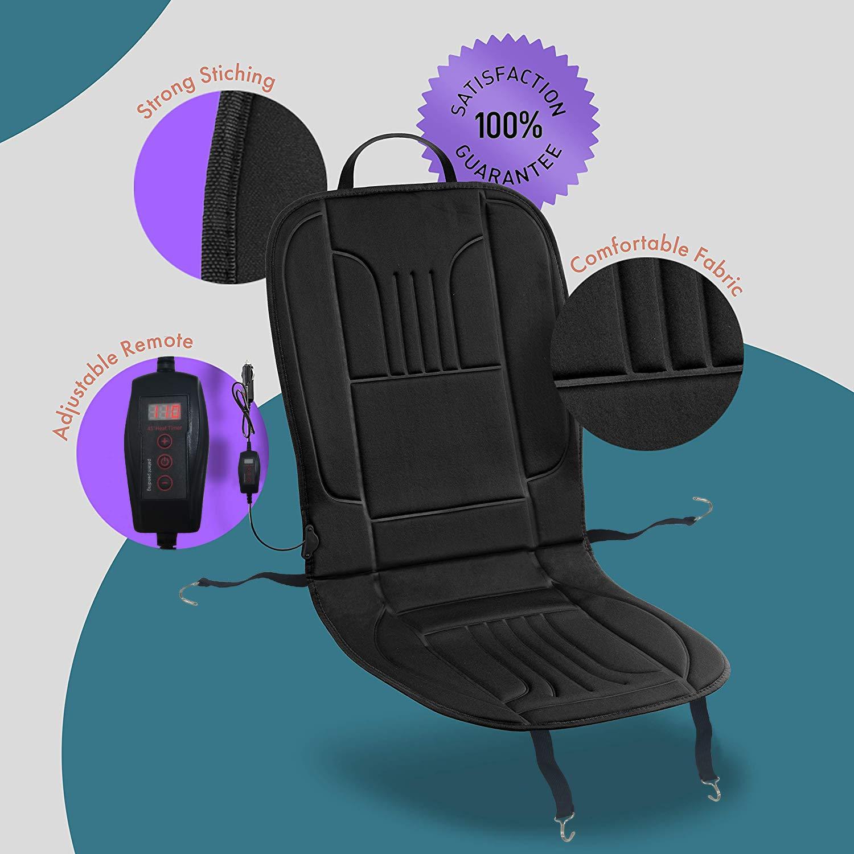 Amazon.com: Zone Tech - Funda para asiento de coche con ...