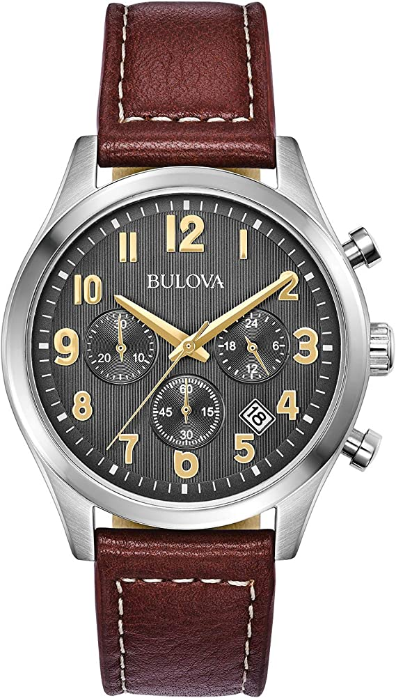 Bulova Dress Watch (Model: 96B301)